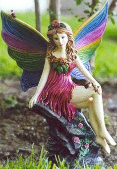 gardens with fairies   Episcias, Fairies and Gnomes, Garden Fairies, Garden Gnomes and Garden ...