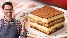 Tiramisu - YouTube Easy Tiramisu Recipe, Tiramisu Dessert, Classic Tiramisu Recipe, Tiramisu Cupcakes, Sweet Recipes, Snack Recipes, Dessert Recipes, Cooking Recipes, Italian Tiramisu
