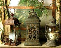 missingsisterstill:    Rustic Lanterns antiques      (via imgTumble)