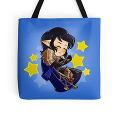 Sleeping Aymeric by dennydraws on RedBubble [Tote Bag]