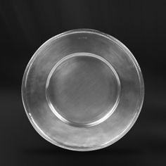 Pewter Charger Plate handcrafted by artisans of La Bottega del Peltro - Italian Pewter Dinnerware - Handmade in Italy - Online Store Charger Plates, Empire Style, Safe Food, A Table, Craftsman, Dinnerware, Table Accessories, Antiques, Tableware