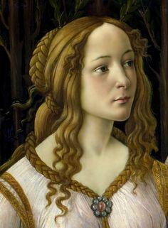artgif:  Venus and Mars (detail),Sandro Botticelli
