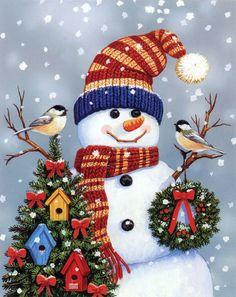 Truly, a Merry Christmas snowman.