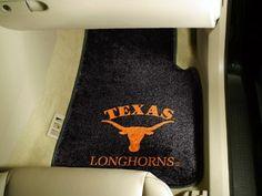 Texas UT Longhorns Carpet Car/Truck/Auto Floor Mats