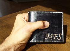 Men's Wallet by skinsew on Etsy