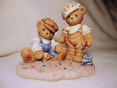 Cherished Teddies Vince And Connor 2002 NIB - OWN