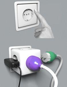 20 Futuristic Industrial Design Concepts / Plug sockets