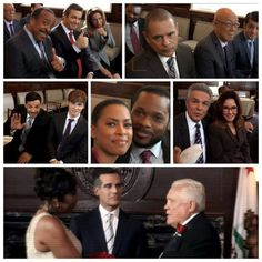 Congratulations to the happy couple! #Patrice and Provenza! #Major Crimes! I like Amy and Cooper together!