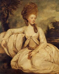 georgiana, Duchess of Devonshire Sir Joshua Reynolds.  Another larger-than-life Spencer woman, Lady Georgiana Spencer was a force of nature. She was married to the Fifth Duke of Devonshire when aged seventeen.