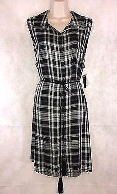 No-Boundaries-Mint-Combo-Sleeveless-Belted-Dress-Juniors-Size-XL-New