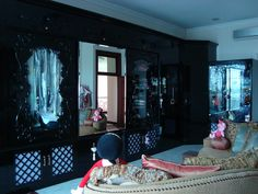 Anna Sui implemented in wardrobe design for home by Simple Luxury Interior Surabaya,Indonesia