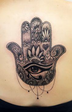 tatuagens mao de fatima - Pesquisa Google