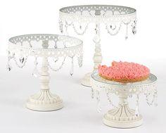 Le Reve 3 Piece Cake Stand Set