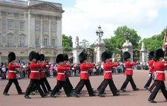 Buckingham Palace Guards, London