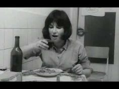 Chantal Akerman, Saute ma ville, 1968    For this work, Chantal Akerman filmed herself doing a series of chores and household tasks around her apartment, joining the many video and performance artists who yearned to use the medium to re-visit the drama of quotidian life.