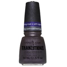 China Glaze Tranzitions Winter 2012 Nail Polish Lacquer Collection - Shape Shifter With Barry M Clear 3in1 Basecoat, Topcoat & Nail Hardener (54): Amazon.co.uk: Health & Beauty