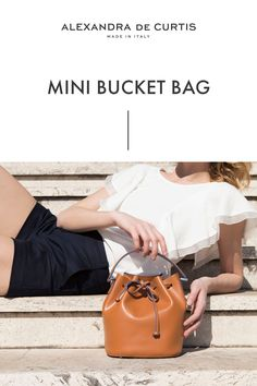 Are you looking for a designer leather handbag? Click through to check out the Bella Mini Bucket, handmade in Italy with smooth Italian Leather Handbags, Designer Leather Handbags, How To Make Handbags, Italian Fashion, Ballet Flats, Bucket Bag, Classic Style, Style Inspiration, Purses
