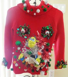 17 Best Ugly Christmas Sweater Images In 2014 Diy Ugly