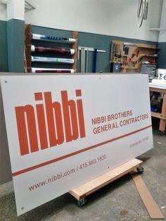 Image result for nibbi construction sign Construction Signs, Organization, Image, Getting Organized, Organisation, Building Signs, Tejidos