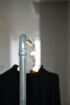 Vaatesäilytys, vaaterekki, vaateteline, diy Storage, clothes rail, clothes rack, diy Home, Haus, Homes, Houses, At Home