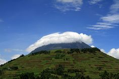 Mount Muhabura is the setting of the first chapter of Lamentation of a Warrior.