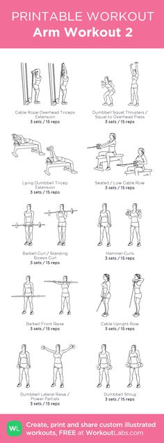 Arm Workout 2: created at WorkoutLabs.com
