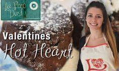 Valentine's Day Dessert – The Hot Heart (Molten Lava Cake)