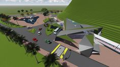 Urban planning at Itaipava, Petrópolis, RJ. Developed by Alice Tesch and Fernanda Assis. Ateliê de Urbanismo - Universidade Estácio de Sá