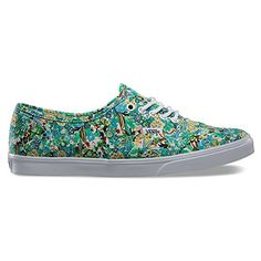 Vans Damen Sneaker grün 38 1/2 - http://on-line-kaufen.de/vans/38-5-eu-vans-damen-authentic-lo-pro-sneakers