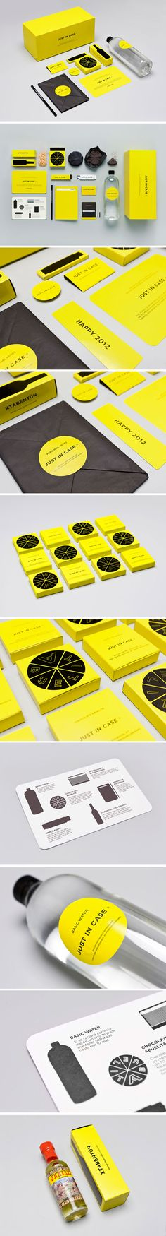 Just in case by MENOSUNOCEROUNO #packaging #branding #marketing PD