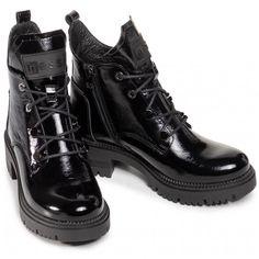 Botki NESSI - 20748 Czarny 711 - Botki - Kozaki i inne - Damskie | Kolekcja 2021 | eobuwie.pl Dr. Martens, Fashion Boots, Hiking Boots, Combat Boots, Shoes, Zapatos, Shoes Outlet, Shoe, Footwear