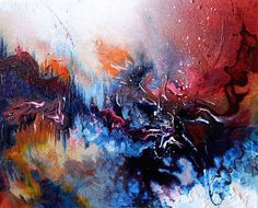Artist with Synesthesia Paints Music Melissa McCracken
