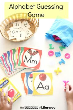 Bring some fun and excitement to your literacy center and classroom with this Alphabet Guessing Game. So fun for Kindergarten learning or 1st grade review!