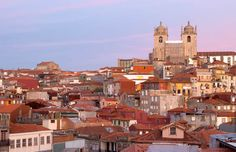 Rooftops and the cathedral, Porto, Portugal