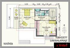 3szintes:  tetőtér átalakítás/bővítés