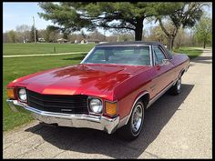 1972 Chevrolet El Camino One Family Owned Since New presented as lot G176 at Indianapolis, IN