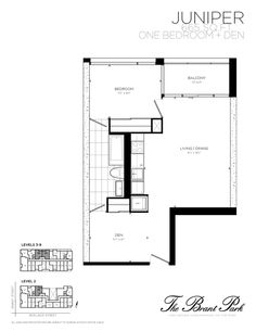 """why it rocks: for a small unit the floor plan makes exceptional sense; the services (washroom, bathroom) are grouped together, the entry way is not crowded and you have a moderately good sightline. With a few minor alterations you could imagine exaggerating the grouped services idea by creating what appeared to be a """"service cube"""" which divides an otherwise open space. You could wrapping the cube in a contrasting material or colour, and replace the existing doors with floor to ceiling glass doors."""