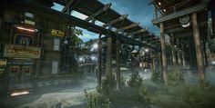 ArtStation - Evolve - town look dev, Matt Olson