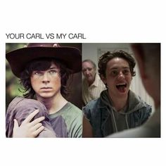 Both my carl, right carl came first though