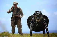 Robotic Big Dog Undergoes Field Trials With US Marines For The First Time - https://technnerd.com/robotic-big-dog-undergoes-field-trials-with-us-marines-for-the-first-time/?utm_source=PN&utm_medium=Tech+Nerd+Pinterest&utm_campaign=Social