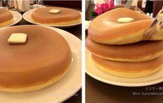 Japanese Pancakes from West Aoyama Garden restaurant in Tokyo
