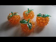 DIY beads,craft beads shaped small basket,kerajinan manik-manik berbentuk keranjang kecil - YouTube