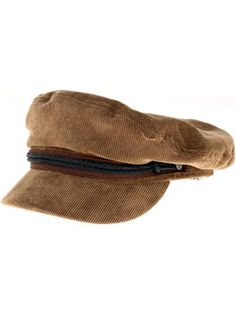 A picture of the Brixton Fiddler Hat in Brown Corduroy