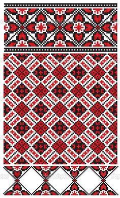 Ukrainian embroidery pattern — Cтоковый вектор #37624253
