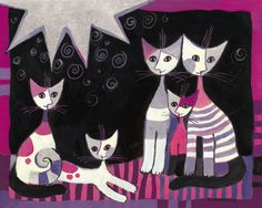purple cats