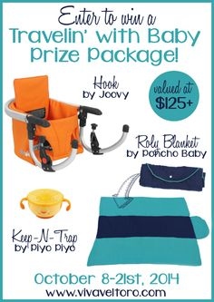 Travelin' With Baby giveaway