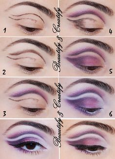cut crease makeup - Google Search