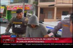 Trasladan A Carlos Montesquieu A La Fiscalía De Cristo Rey #Video