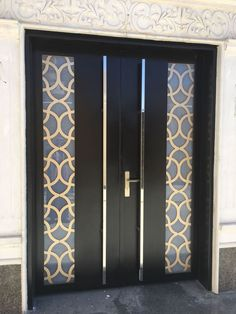 Steel Gate Design, Front Gate Design, Door Gate Design, Railing Design, Wooden Gate Designs, Gate Designs Modern, Modern Fence Design, House Main Door Design, Wooden Main Door Design