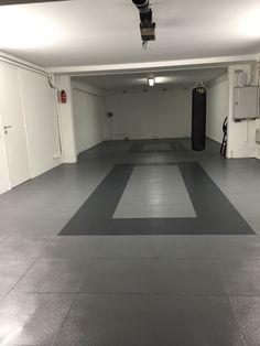 hier sieht man unseren pvc industrieboden zum selber legen einfach installieren kann unserer. Black Bedroom Furniture Sets. Home Design Ideas